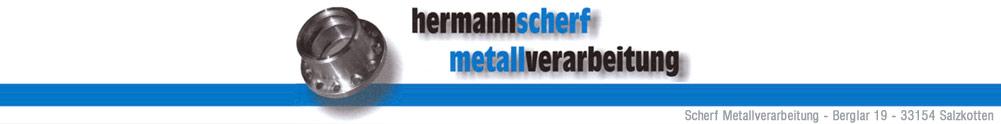 Hermann Scherf Metallverarbeitung